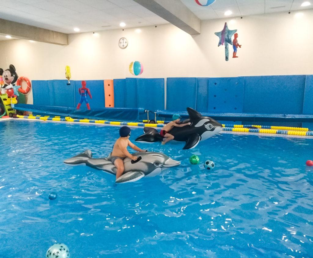 Clases de natación infantil en Valencia